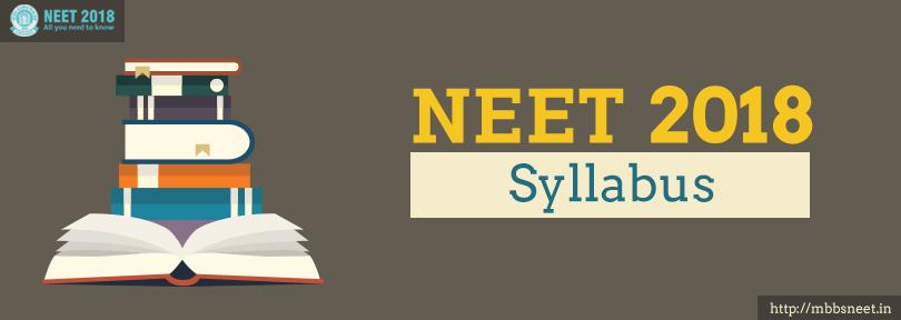 NEET 2018 Syllabus